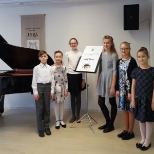 """III respublikinis jaunųjų pianistų etiudų konkursas """"Mažieji virtuozai"""""""