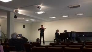 Koncertas Elektrėnų meno mokykloje