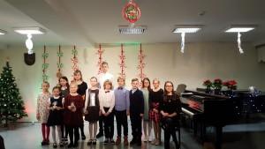 Mokytojos L. Lankutytės mokinių Kalėdinis koncertas