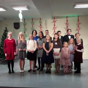 Mokyt. Onos Navickienės klasės mokinių Kalėdinis koncertas
