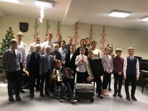 Akordeono skyriaus Kalėdinis koncertas - susirinkimas tėvams
