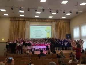 """Respublikininis jaunučių chorų festivalis """"Su daina ir šypsena"""""""
