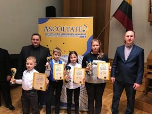 "XIII tarptautinis akordeonistų konkursas ""Ascoltate"" 2019"