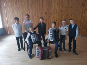 EMM jaunųjų akordeonistų koncertas Elektrėnų pradinėje mokykloje