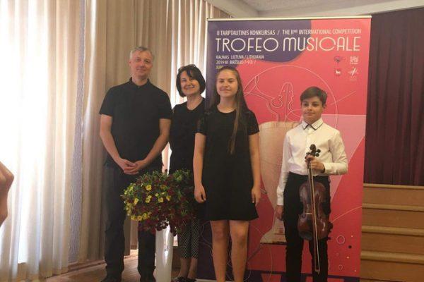"""II tarptautinis muzikantų konkursas """"Trofeo musicale"""""""