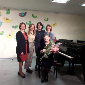 Koncertas-susitikimas su kompozitore T. Šlaustiene